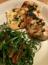 Food, Fast: Chicken with haloumi and honey