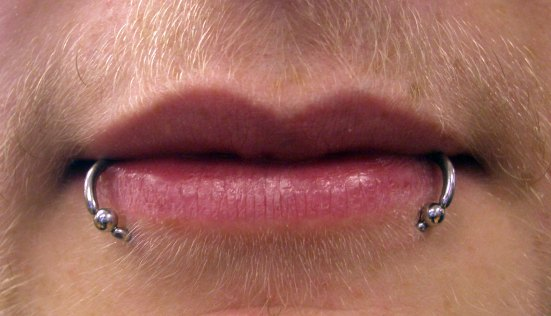 Facial piercings - how old is too old?