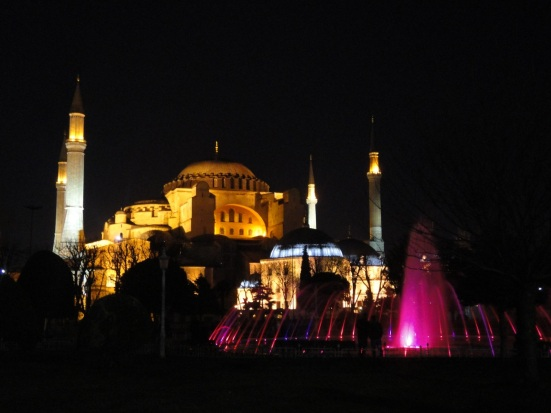 Blue Mosque Istanbul at night