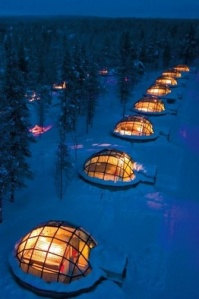Finland igloos