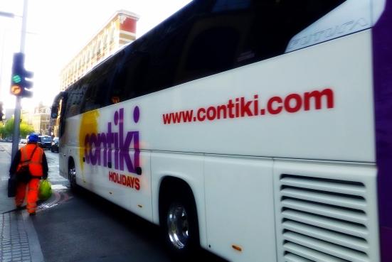 Contiki bus