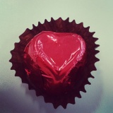 Love = chocolate?