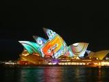 Sydney lights up