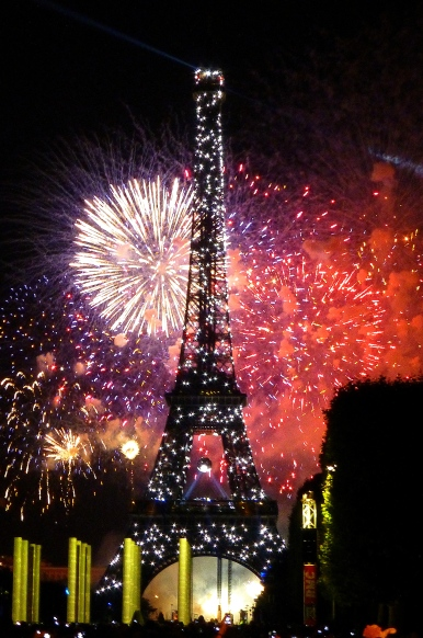 Paris fireworks 4