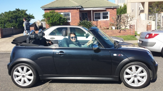 ev in mini cooper convertible