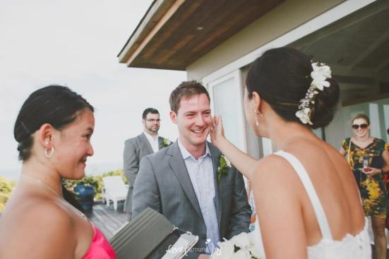 Anthony and Christine get married